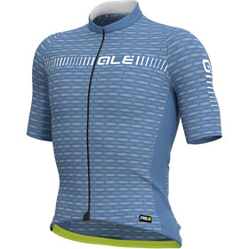 Alé Cycling Graphics PRR Green Road Jersey Korte Mouwen Heren, dust grey/white